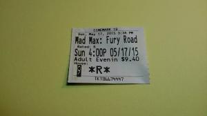 Max Max Fury Road